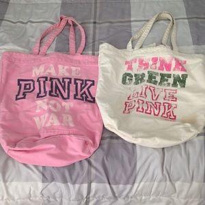 2 VS Pink totes